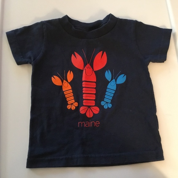 Other - Rabbit Skins Navy Blue Lobsters T-shirt Size 18m